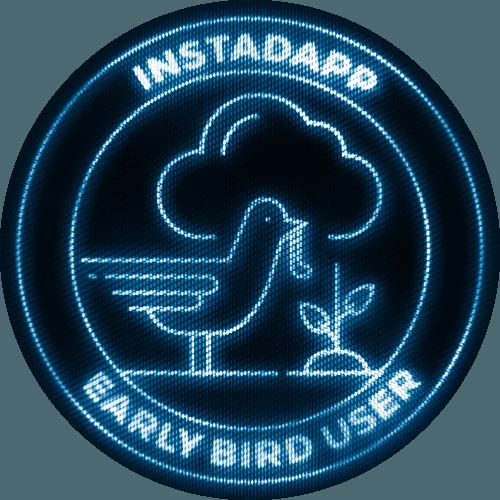 Instadapp Poap Badges_Early Bird User